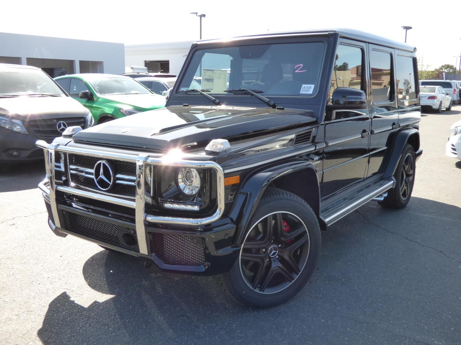 New 2018 Mercedes Benz G Class AMG G 63 SUV in Thousand Oaks