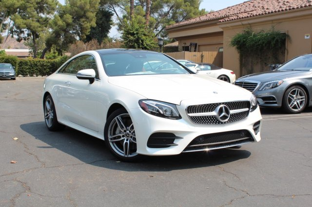 New 2018 Mercedes Benz E 400 Rwd Coupe