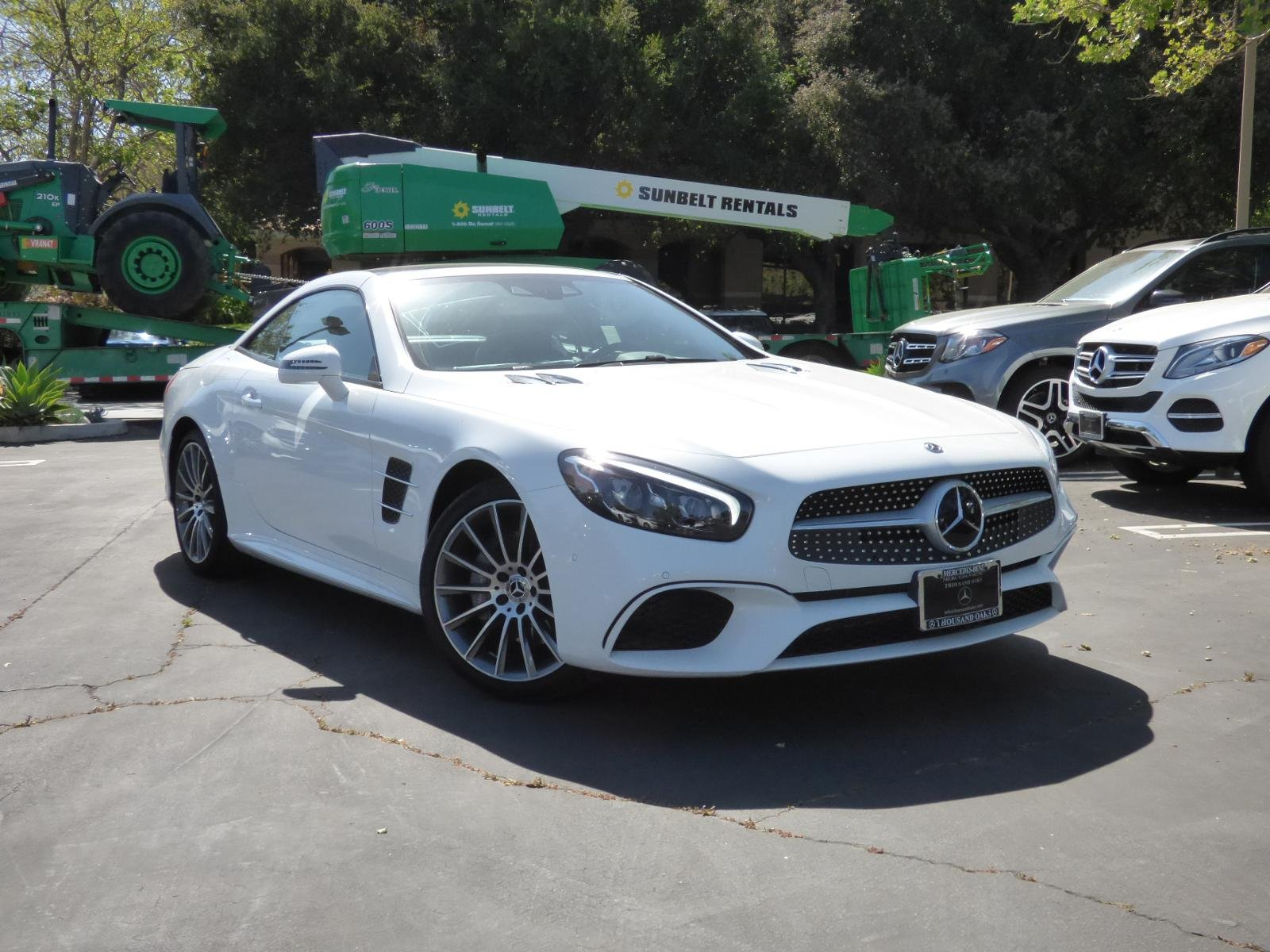 New 2018 Mercedes Benz SL SL 550 ROADSTER in Thousand Oaks
