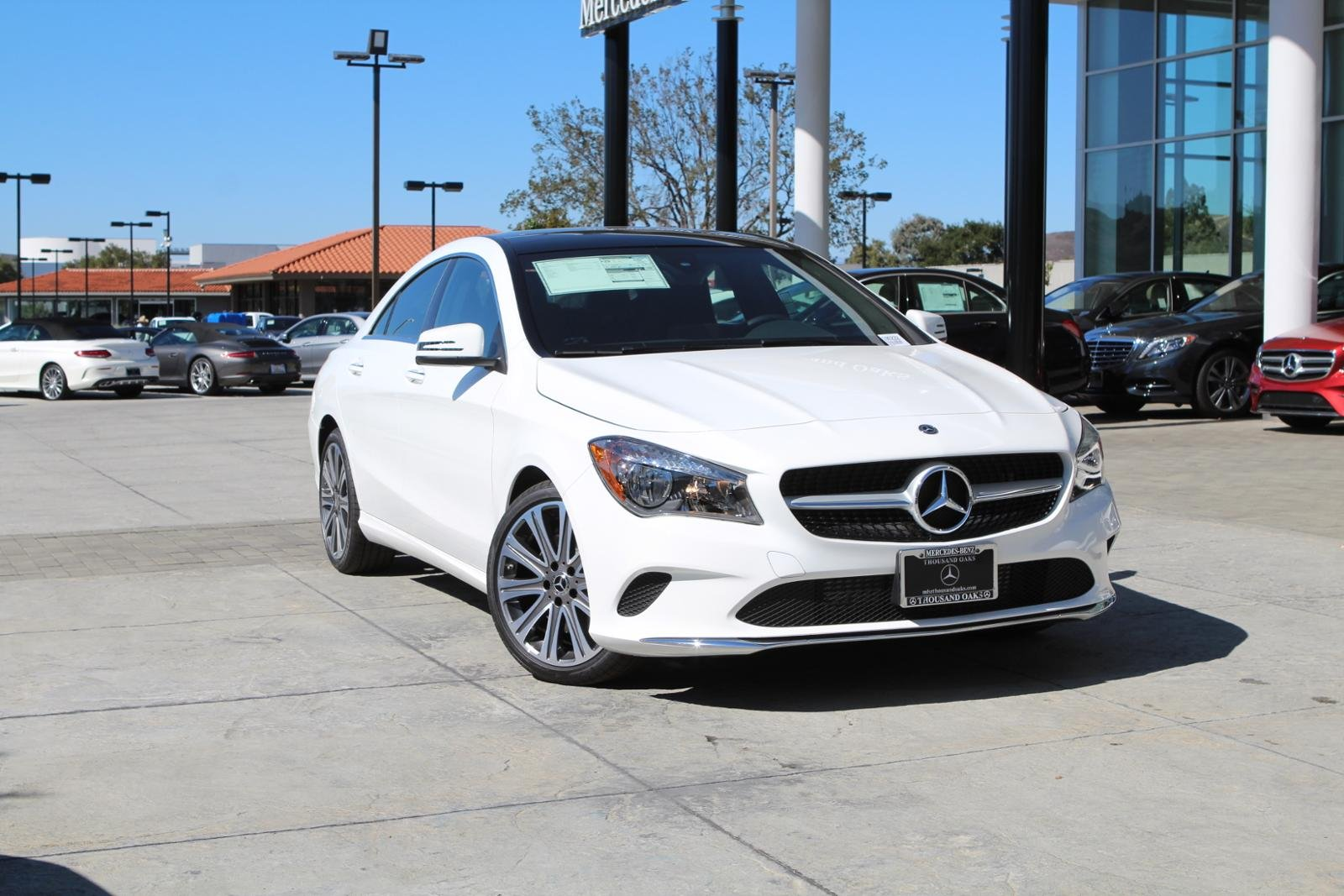 New 2019 Mercedes Benz Cla 250 Coupe In Thousand Oaks 190222