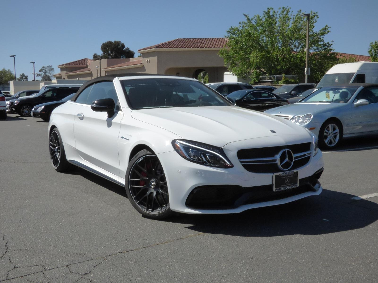 New 2018 Mercedes Benz C Class AMG C 63 S CABRIOLET in Thousand