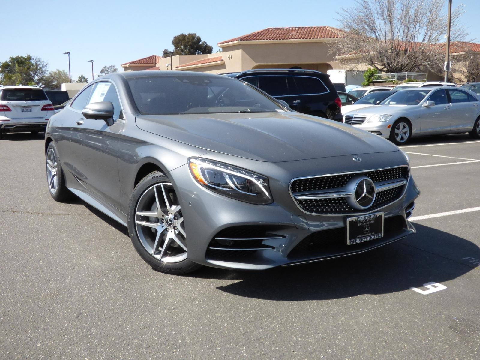 New 2018 Mercedes Benz S Class S 560 COUPE in Thousand Oaks