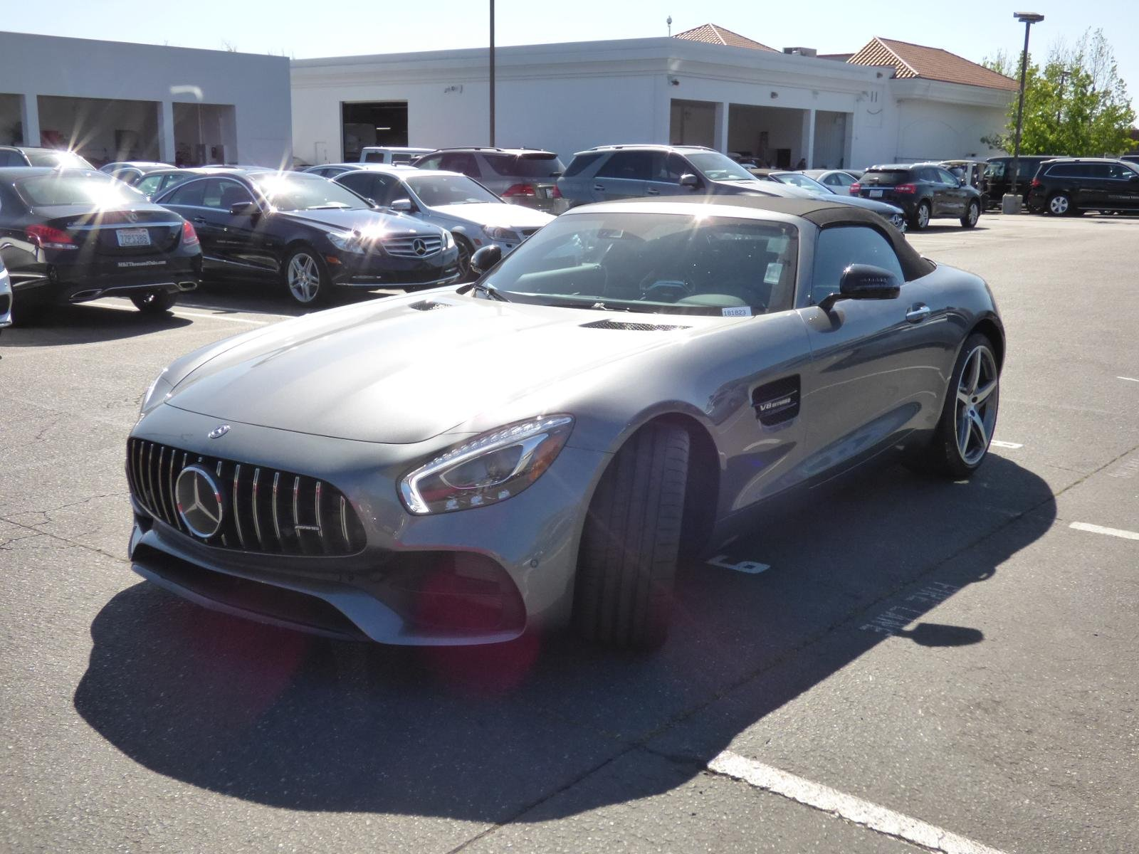 New 2018 Mercedes Benz GT AMG GT ROADSTER in Thousand Oaks