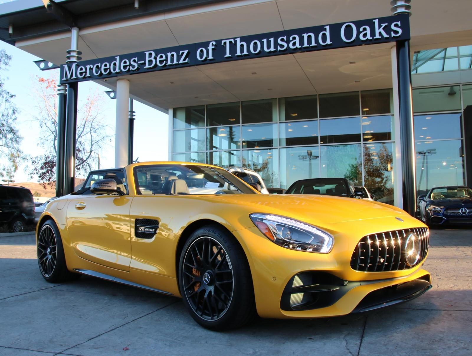 New 2018 Mercedes Benz GT AMG GT C