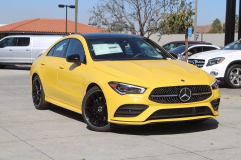 New 2020 Mercedes-Benz CLA CLA 250 FWD Coupe