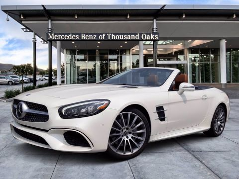 New 2020 Mercedes-Benz SL SL 550 With Navigation