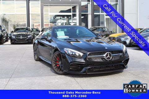 Certified Pre-Owned 2017 Mercedes-Benz SL AMG® SL 63