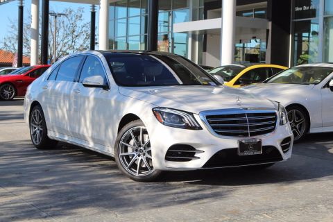 New 2020 Mercedes-Benz S-Class S 560 With Navigation