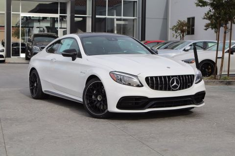 New 2020 Mercedes-Benz C-Class AMG® C 63 RWD COUPE
