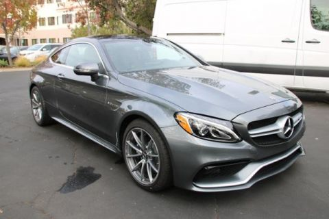 New 2018 Mercedes-Benz C-Class AMG® C 63 Coupe