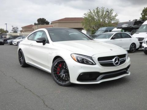 New 2018 Mercedes-Benz C-Class AMG® C 63 S Coupe