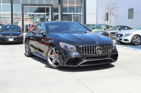 Pre-Owned 2018 Mercedes-Benz S-Class AMG® S 63